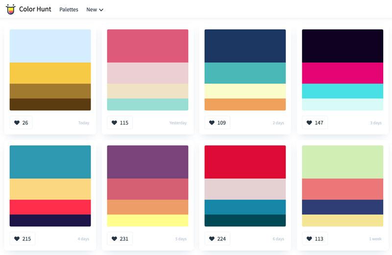 Herramientas para elegir los colores de tu página web - 1